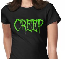 Creep Womens Fitted T-Shirt