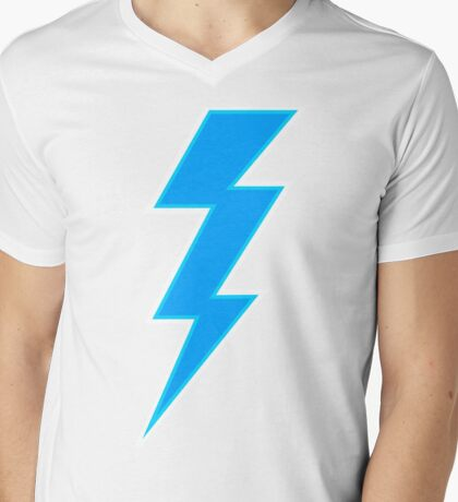 Lightning Bolt Mens V-Neck T-Shirt