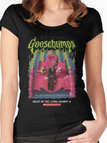 Goosebumps - Night of the Living Dummy 2 Women's Fitted Scoop T-Shirt