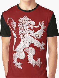Heraldic Lion Graphic T-Shirt