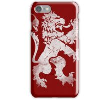Heraldic Lion iPhone Case/Skin