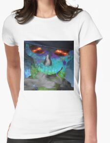 """Skull """"New Face"""" Womens Fitted T-Shirt"""