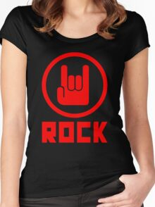 Rock Women's Fitted Scoop T-Shirt