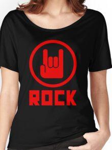 Rock Women's Relaxed Fit T-Shirt