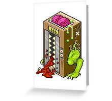 Hellevator Greeting Card