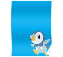 Piplup Design Poster