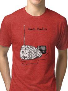 Ham Radio (B&W) Tri-blend T-Shirt