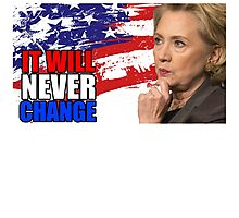 Hillary Clinton America US President Photographic Print