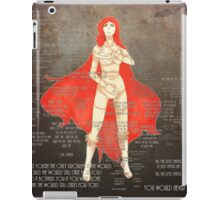 NO-MAKE-UP iPad Case/Skin