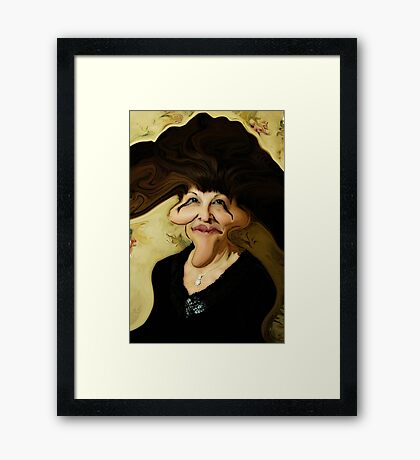 Ugly Lady Framed Print