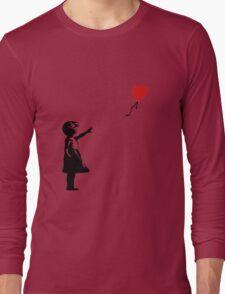 Balloon Girl Banksy Long Sleeve T-Shirt