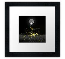 Dance of the Fireflies Framed Print