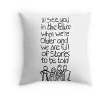 // Bastille Laughter Lines // Throw Pillow