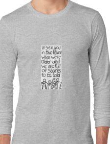 // Bastille Laughter Lines // Long Sleeve T-Shirt