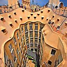 Vertigo on La Pedrera - Barcelona by Hercules Milas