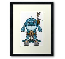 Tsumo, the Whale Lord Framed Print