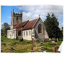St Giles - Imber, Wiltshire, UK Poster
