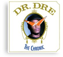 Dr dre the chronic with kamina glasses Canvas Print