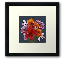 Bouquet Framed Print