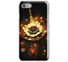 Gold shining in the night iPhone Case/Skin