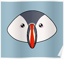 Cute little puffin Poster