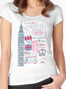 London Tour Women's Fitted Scoop T-Shirt
