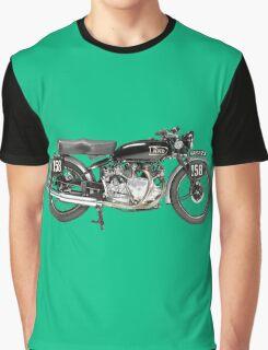 Vintage Motorbike Graphic T-Shirt