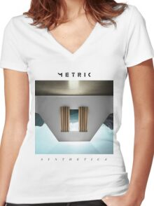 Metric Synthetica Women's Fitted V-Neck T-Shirt