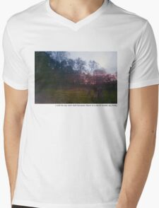 Teen suicide i will be my own hell  Mens V-Neck T-Shirt