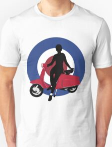 Sixties scooter girl  Unisex T-Shirt