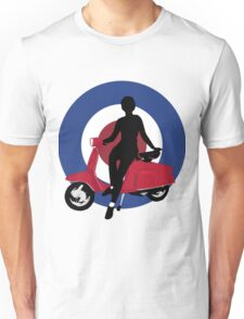 Sixties scooter girl  Unisex T-Shirt