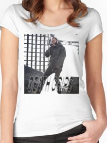 Death grips  Women's Fitted Scoop T-Shirt