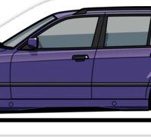 Bavarian E36 328i 3-Series Touring Wagon Techno Violet Sticker