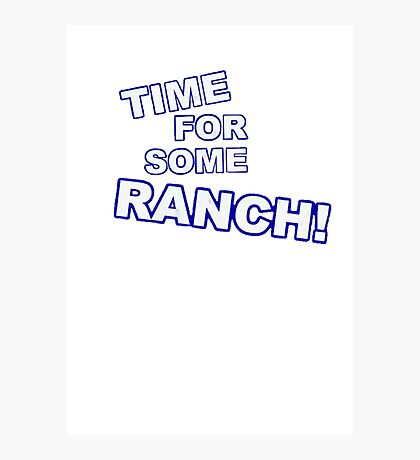 Eric Andre- Time for some ranch  Photographic Print