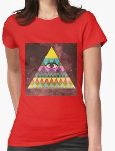 The All Knowing Womens Fitted T-Shirt