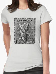 Koala Classic Stamp Womens Fitted T-Shirt