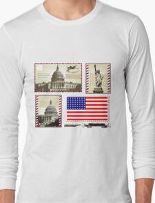 USA Long Sleeve T-Shirt