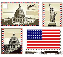 USA Photographic Print