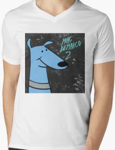mac demarco 2 clifford joke  Mens V-Neck T-Shirt