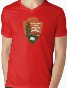 National Park Service logo Mens V-Neck T-Shirt