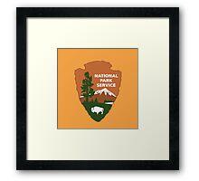 National Park Service logo Framed Print