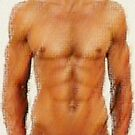 Torso of a young man by Bruno Beach