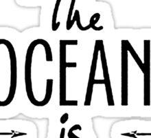 Ocean is Calling Sticker