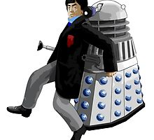 Doctor Who #2 and Dalek by Chris Singley