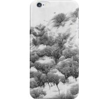 Snowscene in abstraction iPhone Case/Skin