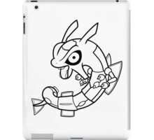 Chibi Rayquaza. Pokemon iPad Case/Skin
