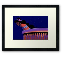 Goodnight, My Handsome Prince Framed Print