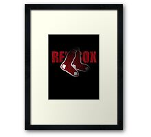 Red Sox Logo Framed Print