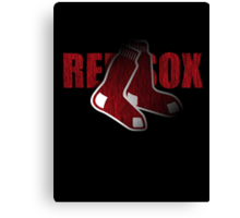 Red Sox Logo Canvas Print