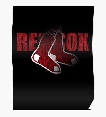 Red Sox Logo Poster